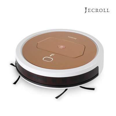 JECROLL JK550 Eleganz - Robot aspirador con función de limpieza. Se desliza en el suelo y se limpia como si estuviera
