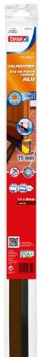 Tesa 05405-00104-00 Calfeutrer bas de porte Adhésif spécial alu sol irréguliers 1 m x 40 mm x 15 mm
