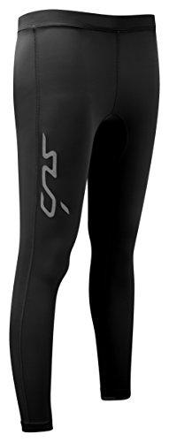 Sub Sports - Legging Sportivi a Compressione per Tutte Le Stagioni, da Donna, Donna, Dual, Black, M