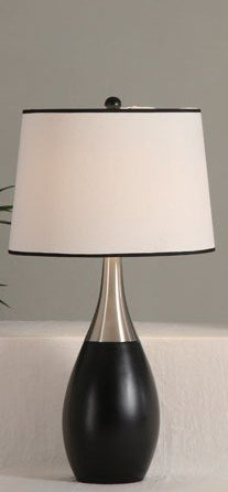 Poundex PDEX-F5292 Bobkona Collections Table Lamp, Set of 2, Brown
