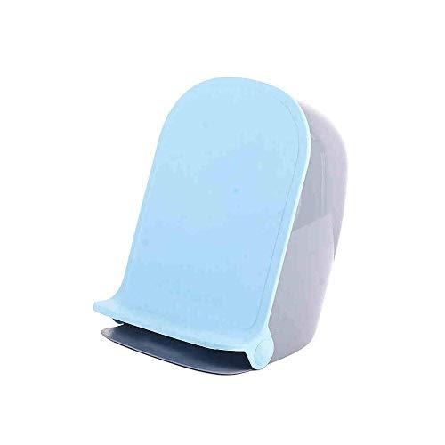 ZWWZ Mülleimer mit Deckel Haushalts Pedal Trash Can, Niedlich Mute Grün Kunststoff Kinder Peel Waste Papieraufbewahrung Mülleimer for Kinderzimmer Badezimmer Study Schlafzimmer, B (Farbe: A) HAIKE