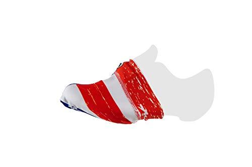 MB Wear - Zapatos para Adulto, Unisex, Color Negro, Blanco, Azul y Rojo, FR: Talla única