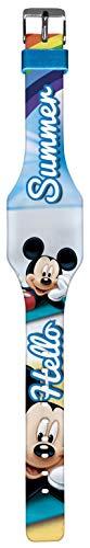 Kids Licensing |Reloj Digital para Niños | Reloj Mickey | Personajes Disney | Diseño Ultra Fino|Reloj Infantil con Display LED | Reloj de Pulsera Ajustable | Reloj de Aprendizaje | Licencia Of