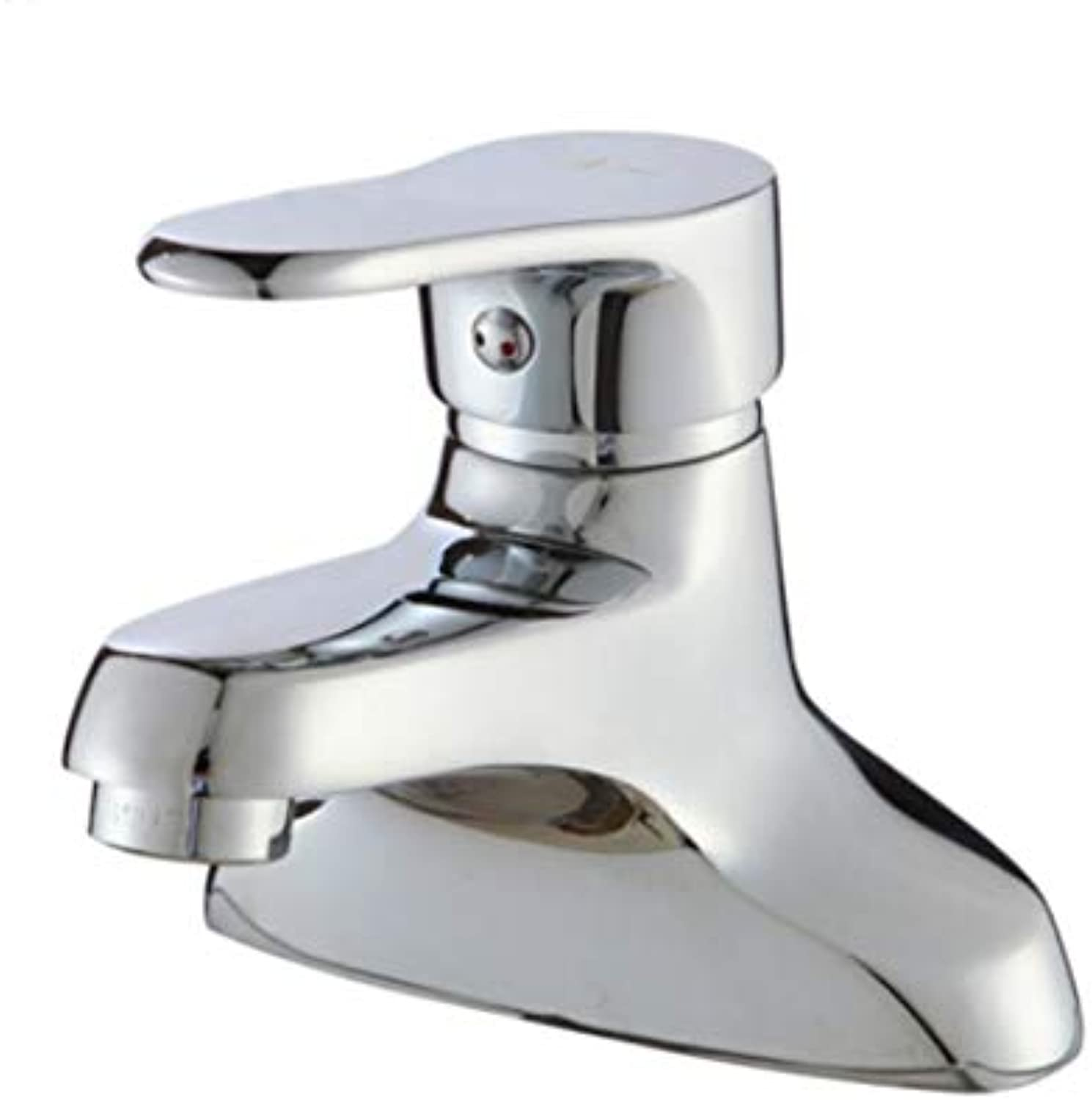 Faucet Waste Mono Spouthot and Cold Basin Faucet Bathroom Copper Bathroom Basin Faucet
