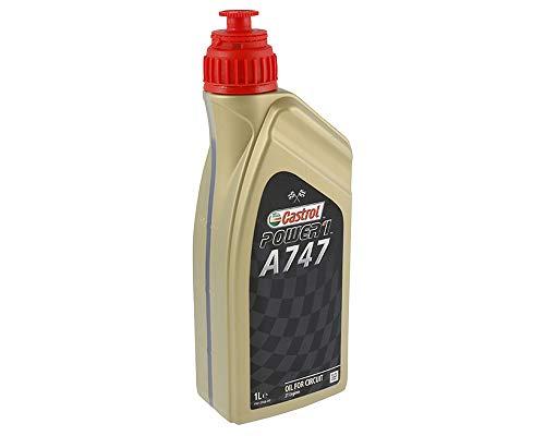 Motoröl CASTROL Racing 2T A747, mit Rizinusölanteil