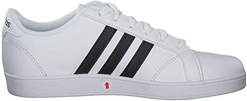 Adidas Baseline K, Zapatillas de Deporte Unisex Adulto, Blanco (Ftwbla/Negbas/Ftwbla 000), 38 2/3 EU