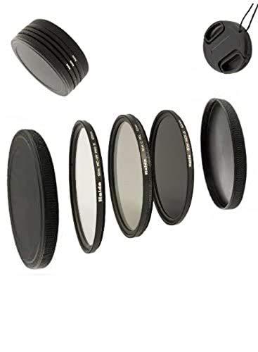 Digital Slim Filter Komplettset Pro für 55mm Objektive - Slim UV MC Pro II - Slim Zirkular Polfilter - Slim ND64 Neutral Graufilter + Bonus