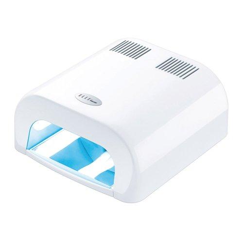 Beurer MPE-38 - Secador uñas, luz UVA, para secar uñas de manos, pies y postizas, color blanco