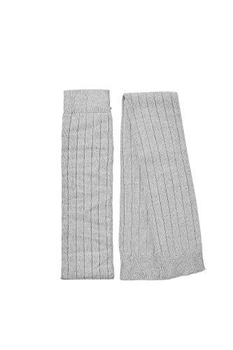 Esprit Rib W AW/LW Calentador de piernas, Gris (Light Grey 3400), OneSize (Pack de 2) para Mujer