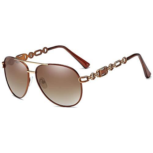 Gafas De Sol De Moda Unisex Gafas De Sol Polarizadas para Mujer Vintage Metal Hollow Lady Driving Gafas De Sol Uv400 Shades Eyewear 04