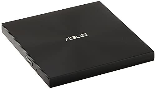 ASUS ZenDrive Ultra Slim USB 2.0 External 8X DVD Optical Drive +/-RW with M-Disc Support for Windows and Mac and Nero BackItUp for Android Devices (SDRW-08U7M-U/BLK/G/AS),Black