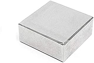 MAGNETICKS Nickel House-Hold and Industrial Magnet, 50 x 50 x 12 mm, Silver