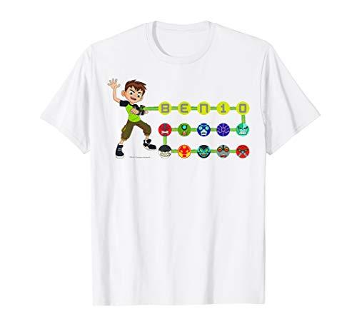 CN Ben 10 Omnitrix Alien Icons T-Shirt
