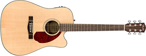 Fender CD-140SCE Natural + Estuche Guitarra Acústica