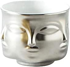 Face Planter - Modern Face Ceramic Flowerpot Succulent Plant Pot Indoor Bonsai Porcelain Planters Home Garden Decor