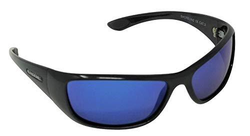 Shoreline - Gafas de sol polarizadas con espejo azul Cat-3 UV400