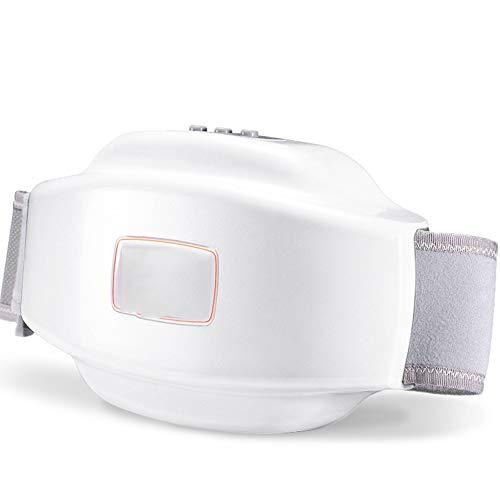 Massagegerät Bauchmassagegerät Gewichtsverlust Kneten Meridian Akupunkturpunkt Physikalische Behandlung Wiederaufladbare Energie Genaue Massage,Weiß,37x13x21cm
