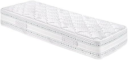 Eminflex Pisa Materasso Touch Foam E Memory Foam Tre Strati Ad Onda Bianco Singolo 80x190 Amazon It Casa E Cucina