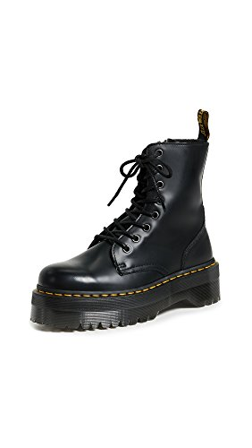 Dr. Martens 15265001 Jadon Polished Smooth, Scarpe Stringate Basse Brogue Unisex-Adulto, Nero, 38