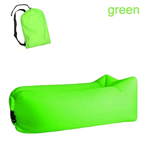 Luft Sofa Mit Sleeping Bag Ultralight Inflatable Sofa Couch Lazy Camping Sleeping Bags Air Bed Beach Lounge Chair Fast Folding-C