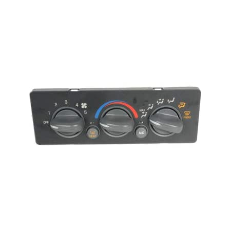XtremeAmazing A//C Heater Control Pannel with Window Defogger Switch Compatible with Chevy Tahoe GMC Yukon 9378805