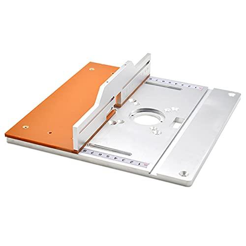 LDFANG Placa de inserción de Mesa de enrutador de Aluminio, Tablero eléctrico...