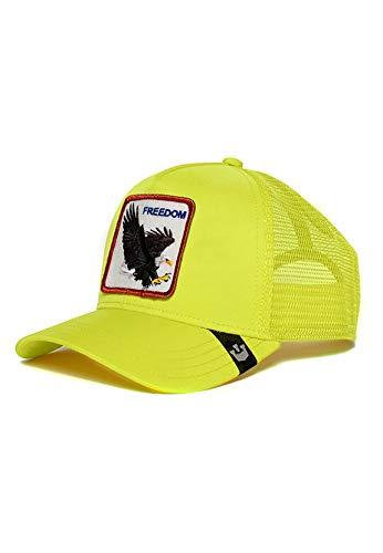 Goorin Bros. Trucker Cap Freedom Neon Gelb, Size:ONE Size