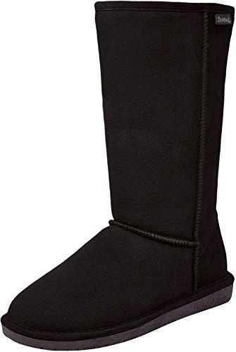 Bearpaw Women's Emma Tall Fashion Boot, Black Ii, 8