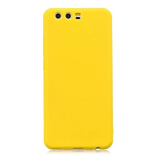 cuzz Funda para Huawei P10+{Protector de Pantalla de Vidrio Templado} Carcasa Silicona Suave Gel...