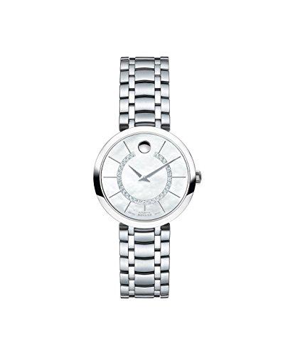 Reloj automático para mujer Movado 1881 Diamond 0606920