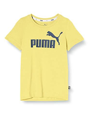 PUMA Jungen ESS Logo Tee B T-shirt, Meadowlark, 176