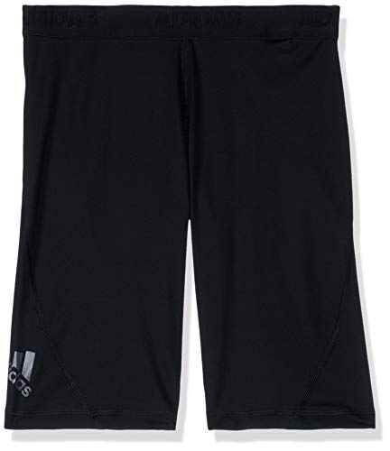 adidas Jungen Tights 1/2 Alphaskin Sport Short, Black, 140, CF7129