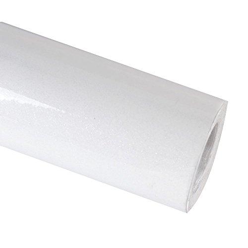 ebuybox Weiss Moebelfolie Klebefolie Hochglanz 10M x 61cm Schrankfolie Kueche Moebel Bad Dekofolie Klebe Folie Kuechenfolie Bastelfolie Selbstklebefolie Plotterfolie
