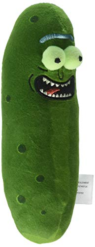 Funko Galactic Plushies: Rick and Morty - Pickle Rick 7 Collectible Figure, Multicolor