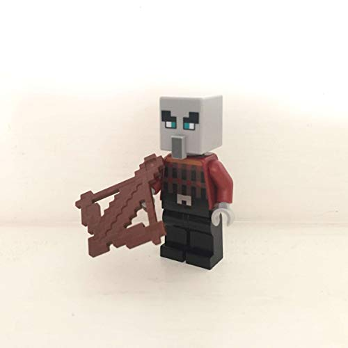 maisterkaio-de Lego Figur Plünderer -- Minecraft -- (aus Set 21159, kompatibel mit Anderen Lego)