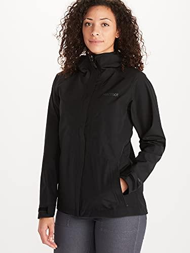Marmot Damen, Wm's Minimalist Jacket Hardshell Regenjacke, wasserdicht, winddicht & atmungsaktiv, Black (neu), M