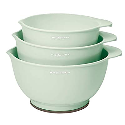 KitchenAid Classic Mixing Bowls, Set of 3, Pistachio