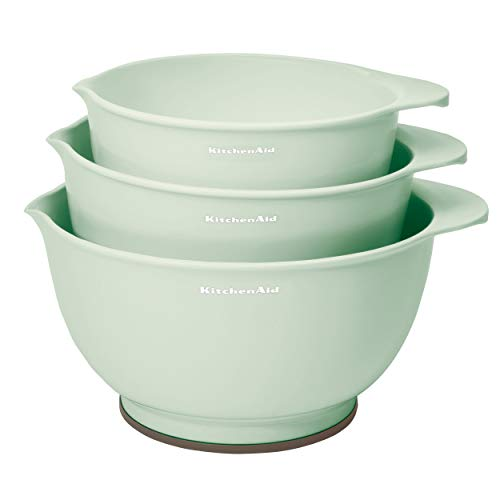 KitchenAid Classic Mixing Bowls, Set of 3, Pistachio