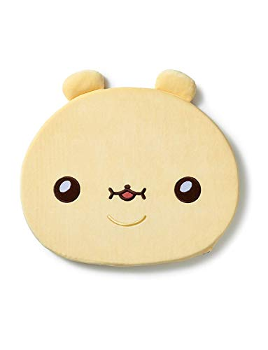 TWOTUCKGOM Collaboration with Monsta X Face Seat Cusion - BEBEGOM - TTG Bear Character Seat Cushion for Office Chair Car Memory Foam Sitting Desk Super Softness and Comfort Accessory