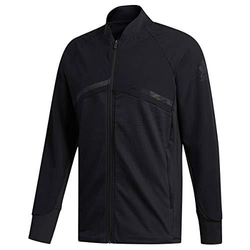 adidas Herren Hybrid Funktionsjacke schwarz M