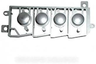 Sharp–Conjunto 4touches grises plástico para Micro microondas Sharp
