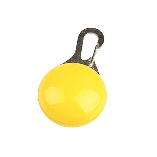 Trihedral-X 1 PC LED Collar del Perro casero Colgante de Seguridad Noche Resplandeciente Colgante Luminoso luz de la Noche del Collar del pedante Alimentos for Mascotas Accesorios del Perro