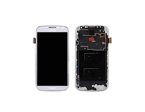 Mobile Rescue UK - Schermo LCD di Ricambio per Samsung Galaxy S4 i9505, Colore: Bianco