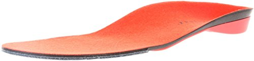 Superfeet REDhot Insoles for Ski Snowboard and Snow Sports for Foot Warmth Comfort Pain Relief and Performance, Mens, Red, Large/E: 9.5 - 11 US Mens