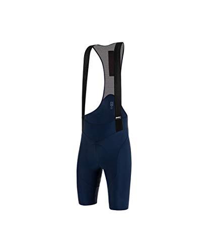 Santini Salopette Abbigliamento Ciclismo Uomo Tono Puro (M, Blu)