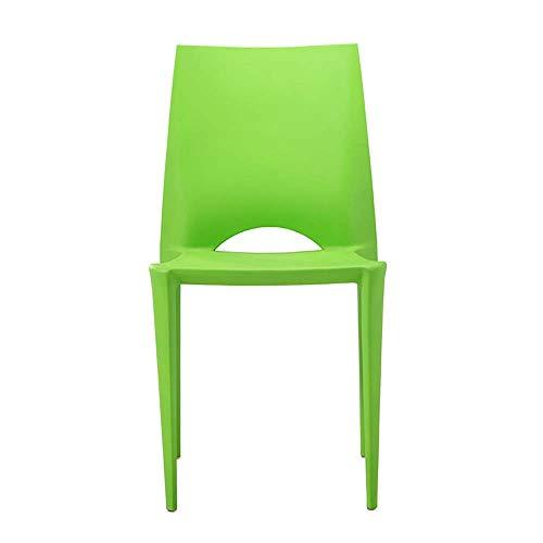 LY7 Nordisch Bellini Stuhl Draussen Barhocker Kunststoff Essensstuhl Mode Einfach Kreativ Kunststoff Stuhl