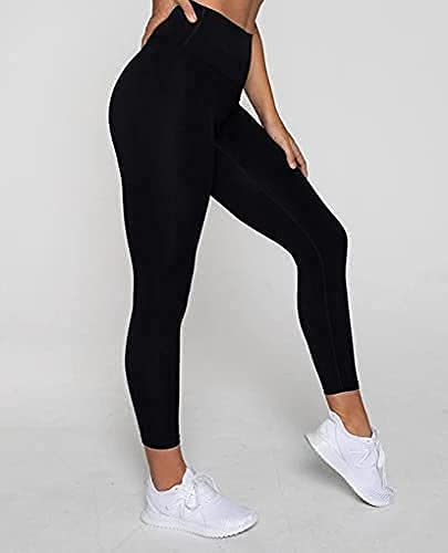 DOZZBY Women's Sports Bra Yoga Pants Gym Outfits Tracksuit Sports,Lower for Women Stylish,Women Breathable Exercise Stretchable non Padded Bra and Leggings free size Item Name (aka Title)