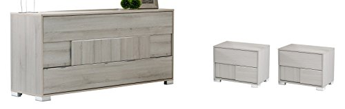 Limari Home Willem Bedroom Set, Grey