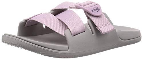 Chaco Women's CHILLOS Slide Sandal, Solid Mauve, 9