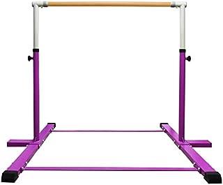 Sponsored Ad - EZ GLAM Adjustable (3'-5') Horizontal Training Bar 1-4 Levels,260lbs Weight Capacity